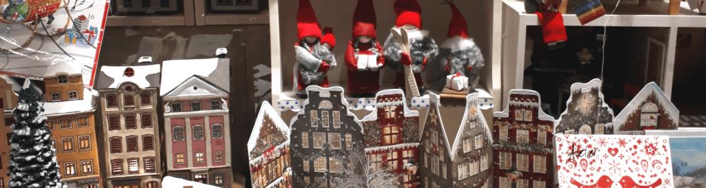 Schwedische Weihnachtsdeko
