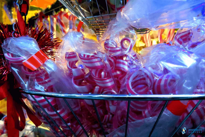 Süßigkeiten am Verkaufsstand